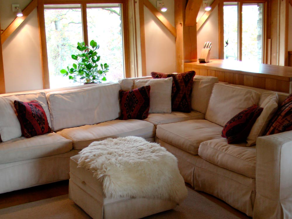 Sofas in the barn